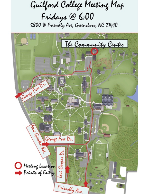 guilford college campus map Suspended Guilford Magnolia Group Alcoholics Anonymous General Service Area 51 State Of North Carolina guilford college campus map