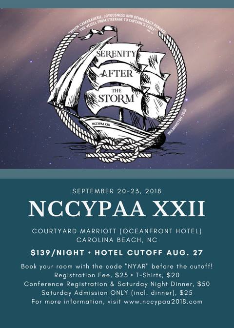 NCCYPAA XXII (RESCHEDULED DUE TO HURRICANE) @ Courtyard Carolina Beach Oceanfront | Carolina Beach | North Carolina | United States