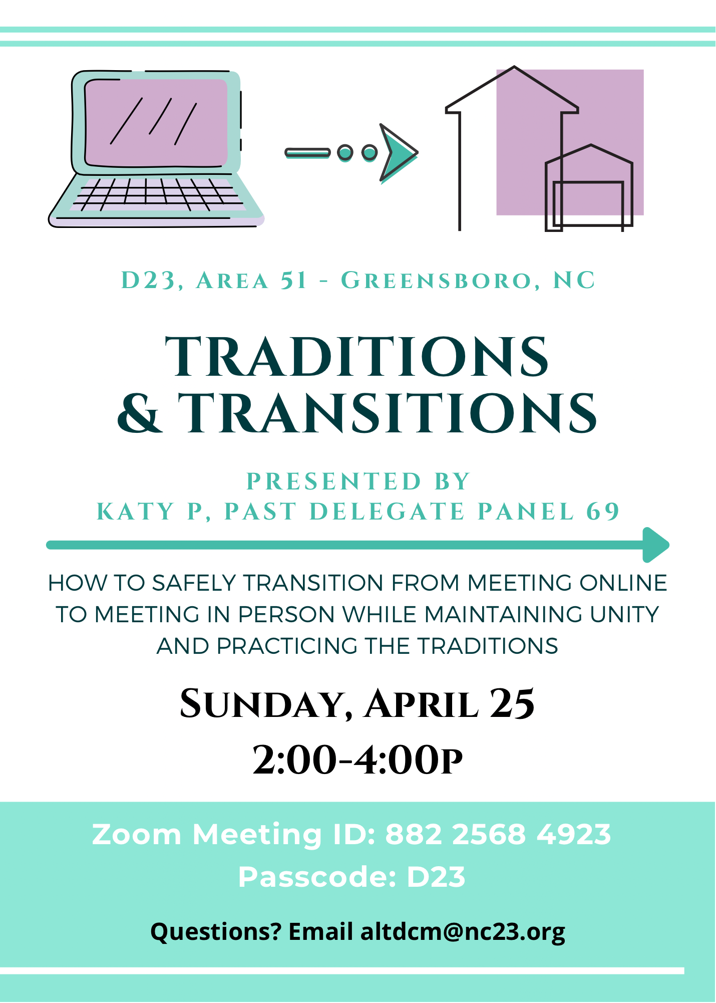 Transitions Flyer