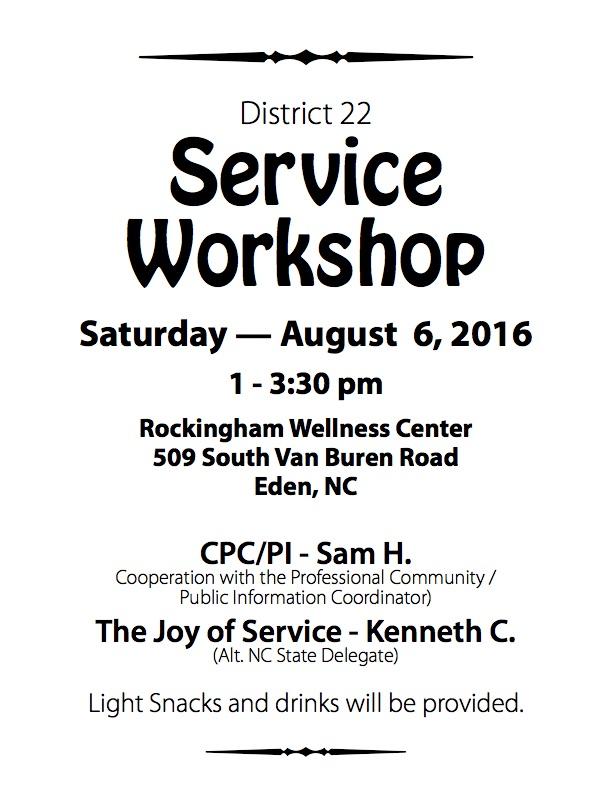 District22_ServiceWorkshop_2016