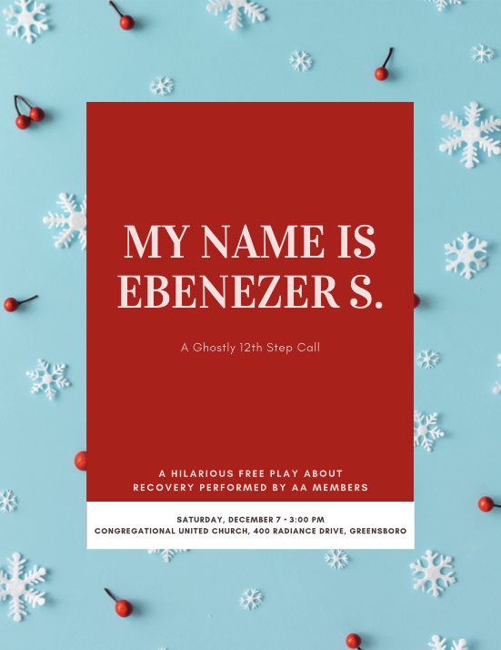 My Name is Ebenezer S. @ Congregational United Church of Christ | Greensboro | North Carolina | United States