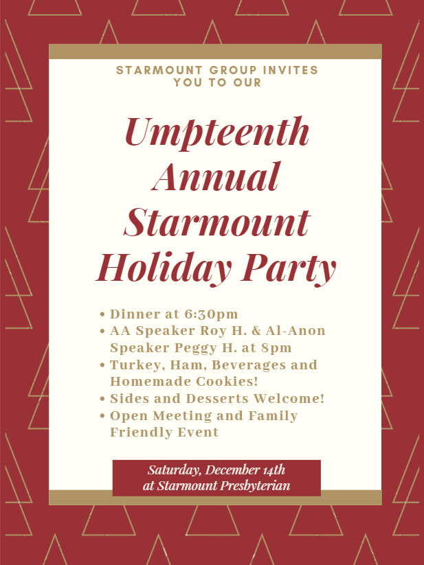 Umpteenth Annual Starmount Holiday Party @ Starmount Presbyterian