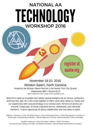 National AA Technology Workshop 2016