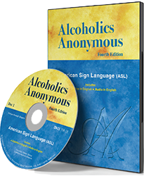 Image of ASL Big Book DVD and cover