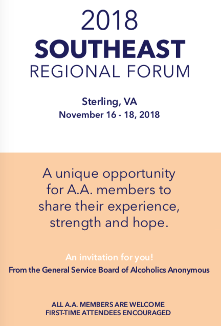 2018 Southeast Regional Forum @ Washington Dulles Airport Marriott | Sterling | Virginia | United States