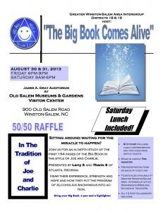 Massachusetts AA Big Book Step Study Meetings | Concord NHBBSS